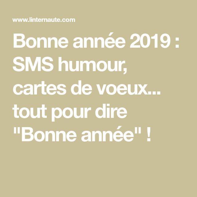 Bonne Année 2019 Sms Humour Cartes De Voeux Tout Pour Dire