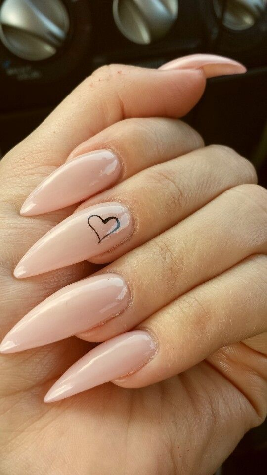 Are you looking for short and long almond shape acrylic nail designs? See  our collection full of short and long almond shape acrylic nail designs and  get ... - 67 Short And Long Almond Shape Acrylic Nail Designs Pinterest
