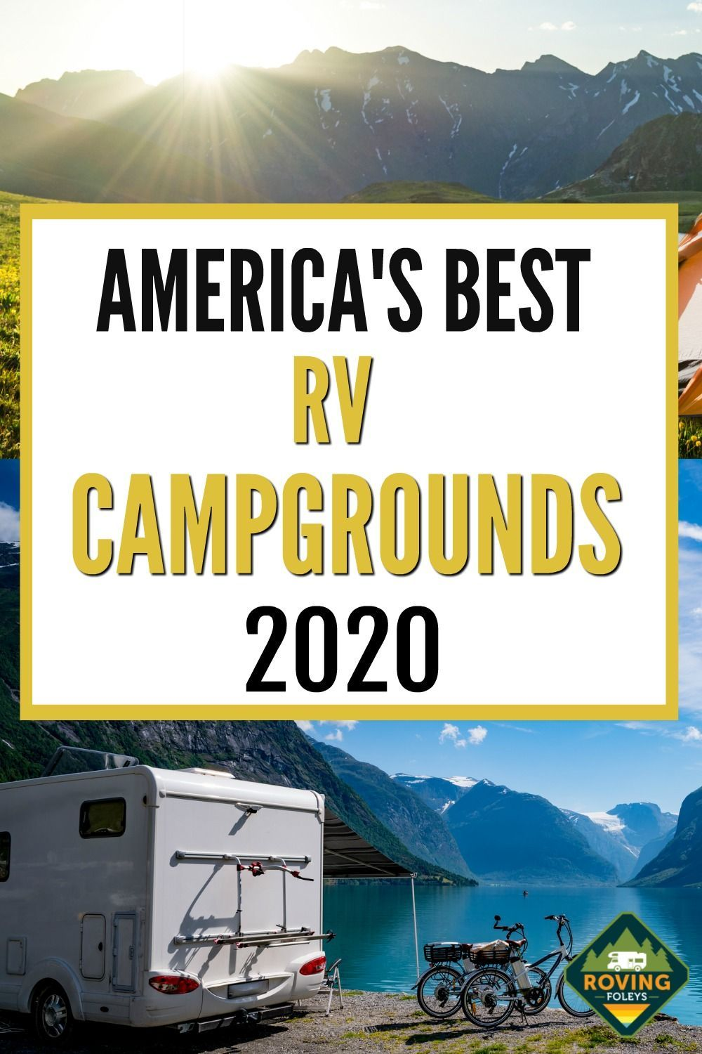 Best Places To Camp In An Rv 2020 Infographics In 2020 Best Places To Camp Rv Road Trip East Coast Road Trip