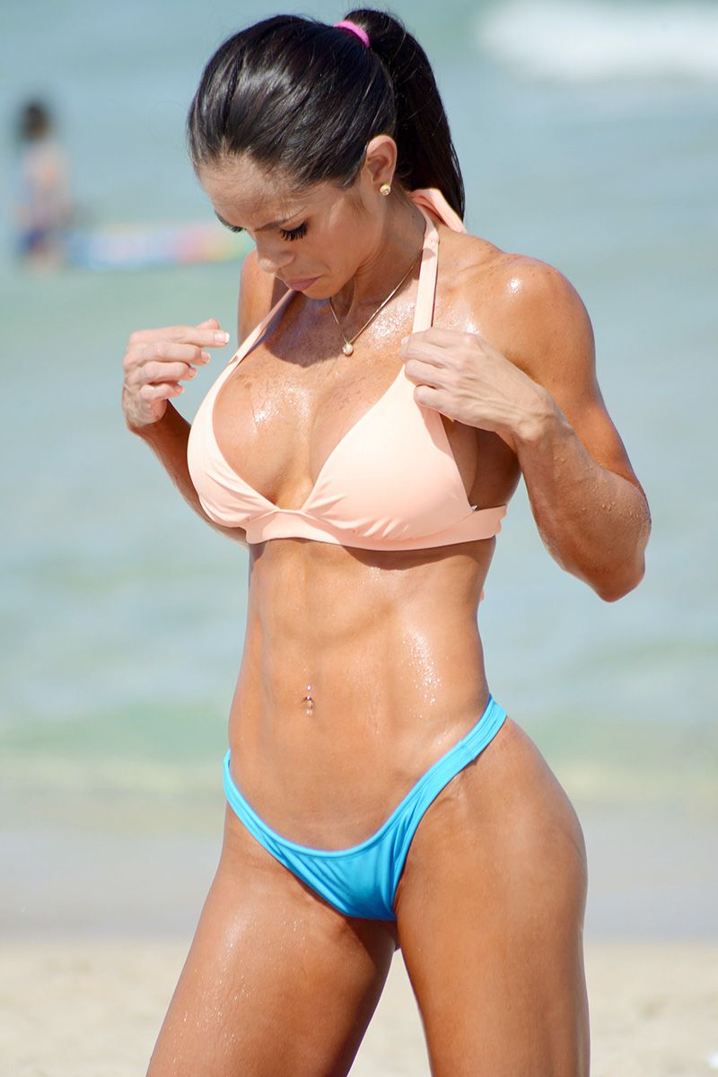 Believe, that perfect beach body think, that