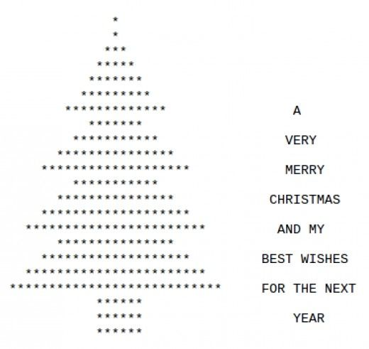 Christmas Tree With Keyboard Symbols Gallery Free Symbol Design Online