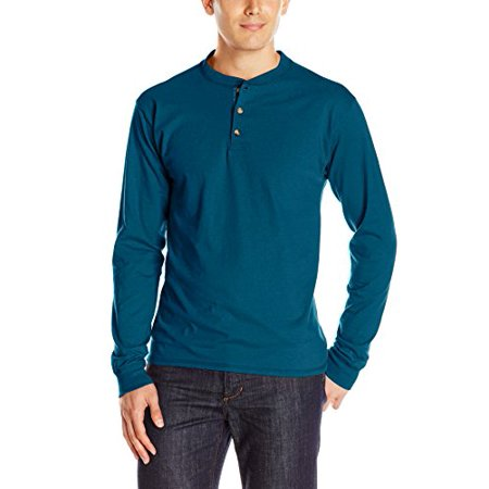 b717c88dc32b Men's Premium Beefy-T Long Sleeve T-Shirt, up to 3xl, Size: Medium, Blue
