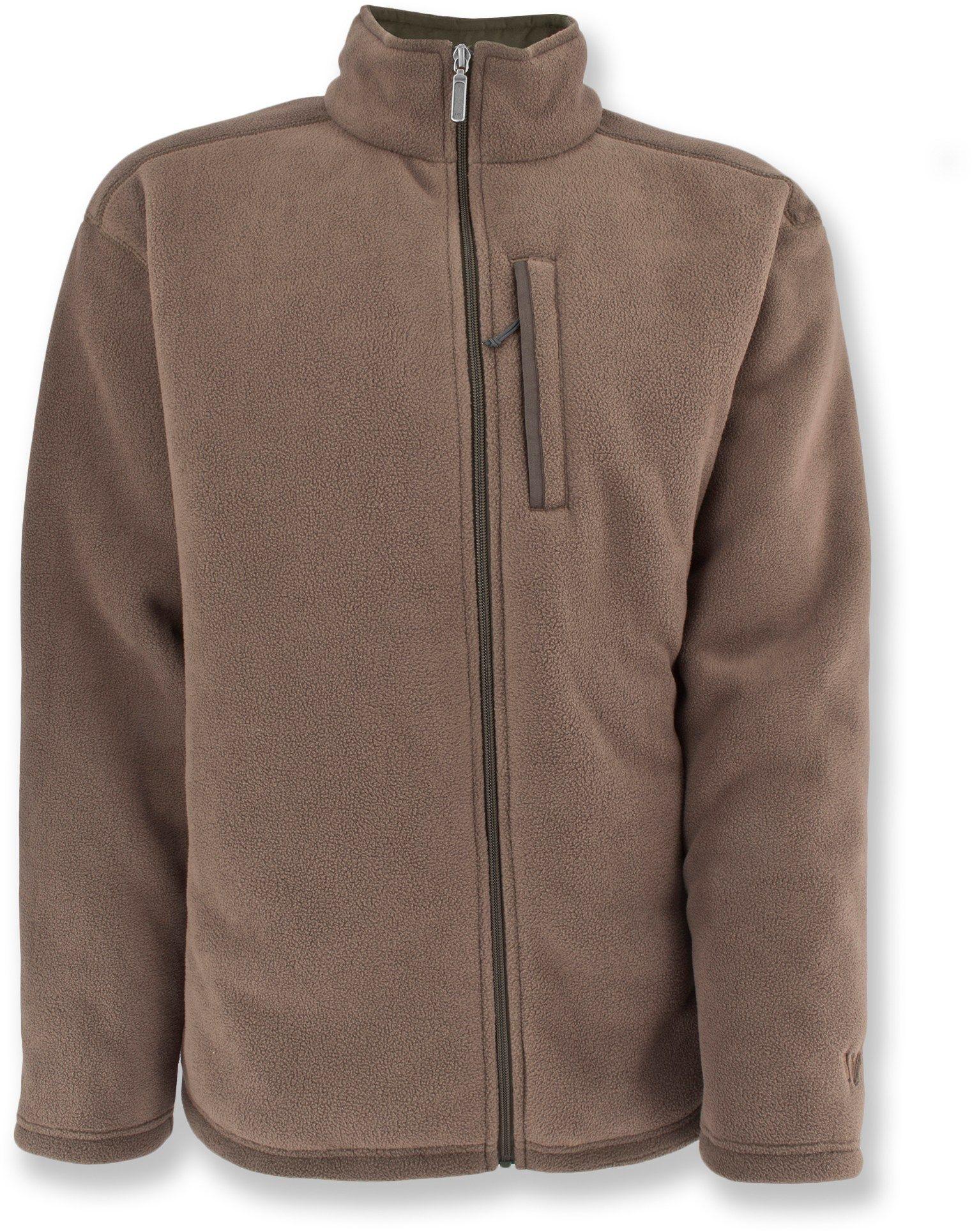 White sierra male kodiak fleece jacket menus apparel