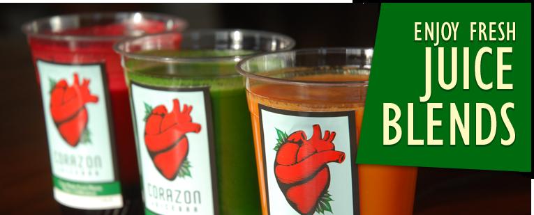 Corazon Juicebar | Your Local San Francisco Juice Bar