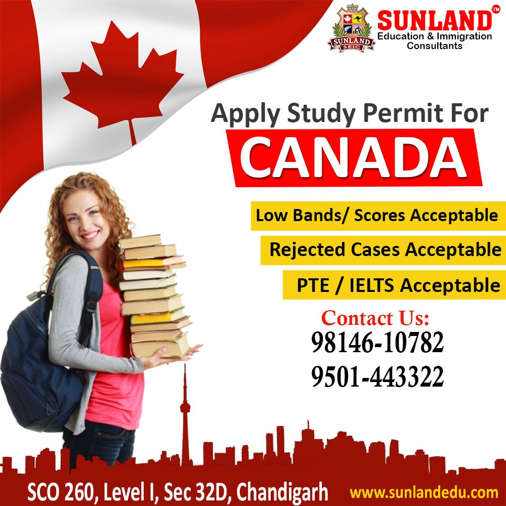 Apply Study Permit For Canada Education, How to apply