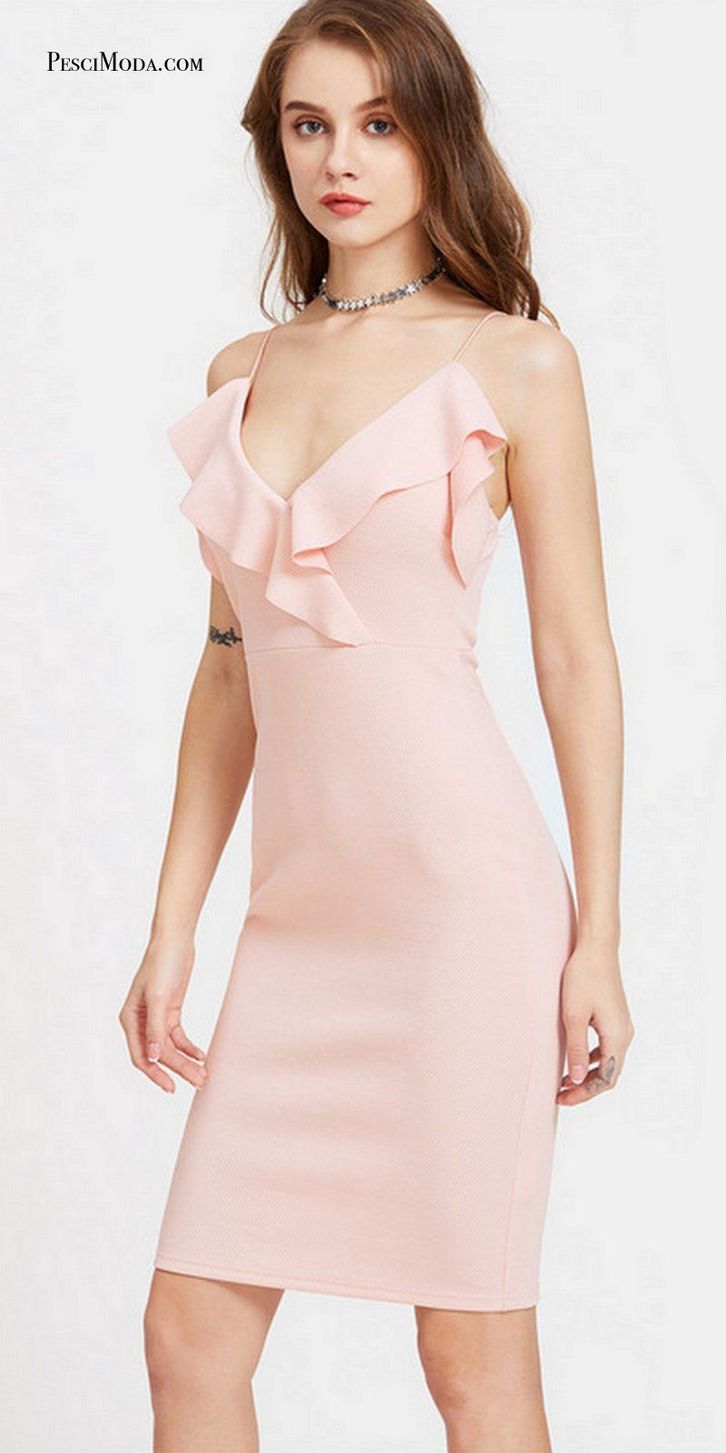 8b7136a68e638 Cute Pink Summer Hot Party Wear Dresses With #FreeShipping. Shop ...