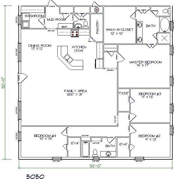 we provide the best barndominium floor plans idea with ...