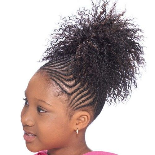 Kid Ponytail Drawstring Ponytail Black Ponytail Hairstyles Girls Hairstyles Braids