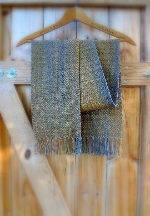 November Road Home Handwoven Scarf by coffeebreakdesigns on Etsy, $90.00