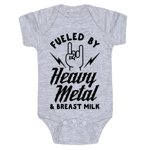 Baby bodysuit I rock out to AC DC with uncle ACDC rock One Piece jersey t-shirt
