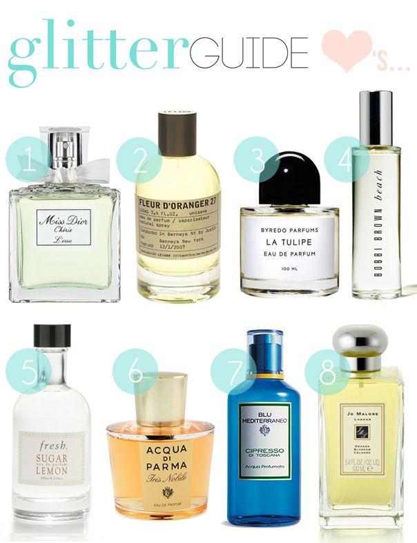 Glitter Guide Picks summer fragrance