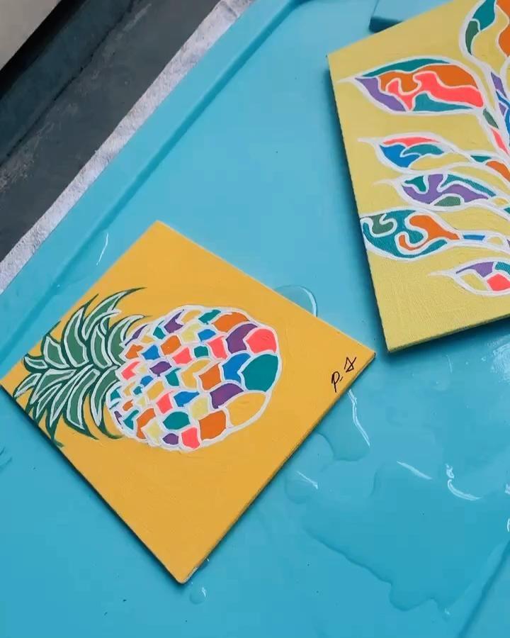 #Art #ArtWork #Acrylic #Paint #Video #BlackArtist #TheBoondocks #RickAndMorty #Remake #ResinArt #Love #Happy #Painting #Pintrest #tiktok