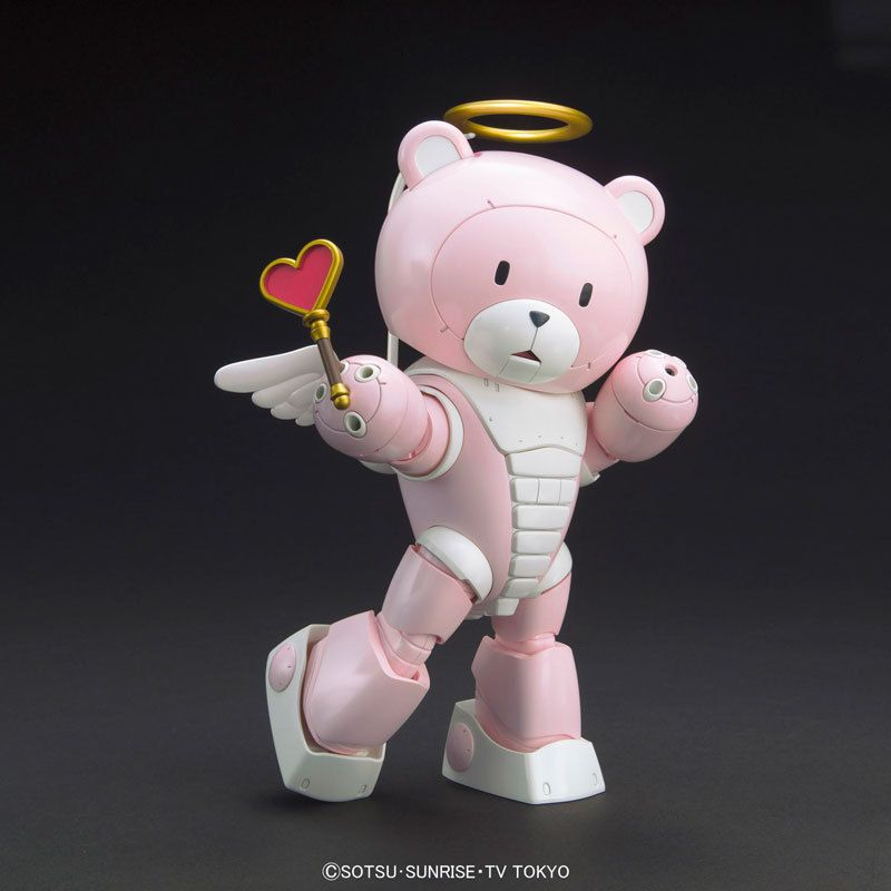 HGBF Gundam Build Fighters Try BEARGGUY P Pretty 1//144 Scale  Plastic Model Kit