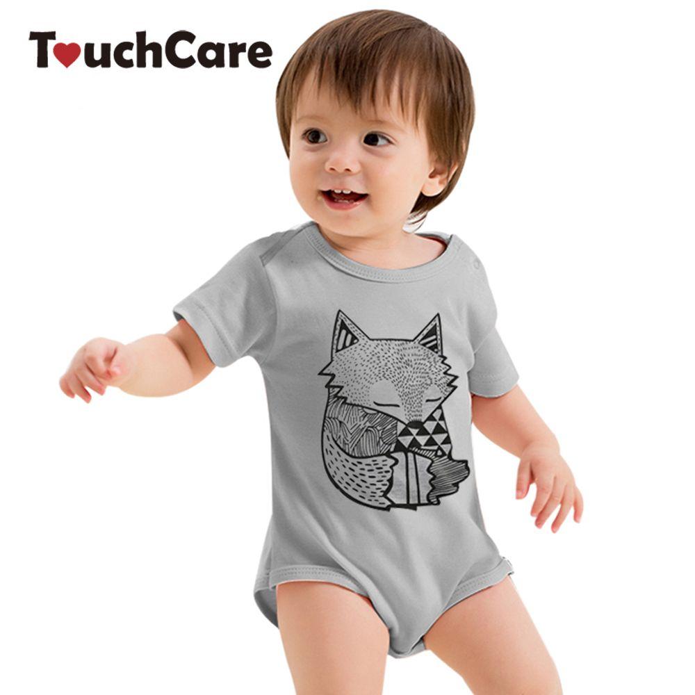 만화 아기 장난 꾸러기 신생아 짧은 소매 아기 옷 죄수 복 유아 한 조각 귀여운 옷 바지 어린이