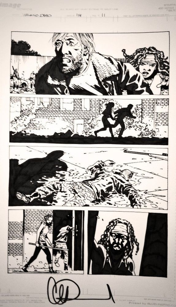 CALL Auction Original The Walking Dead 114 page 11 Charlie