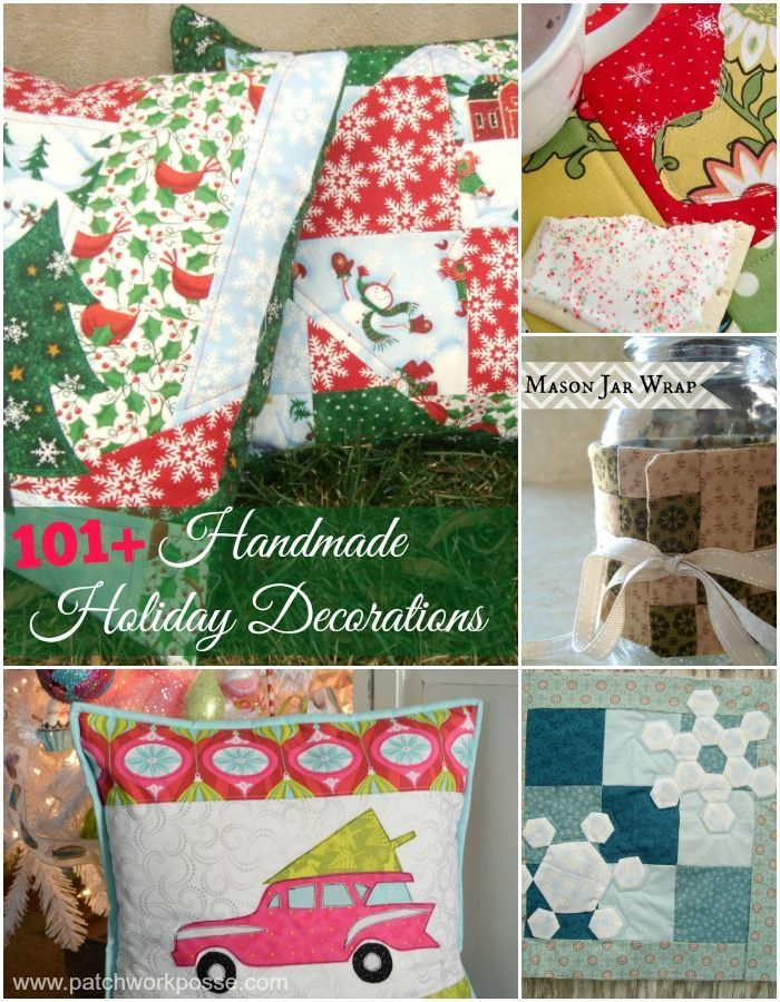 Christmas Sewing Craft Ideas Part - 29: 101+ Handmade Holiday Decorations To Make. Christmas PatternsChristmas  ProjectsEasy ...
