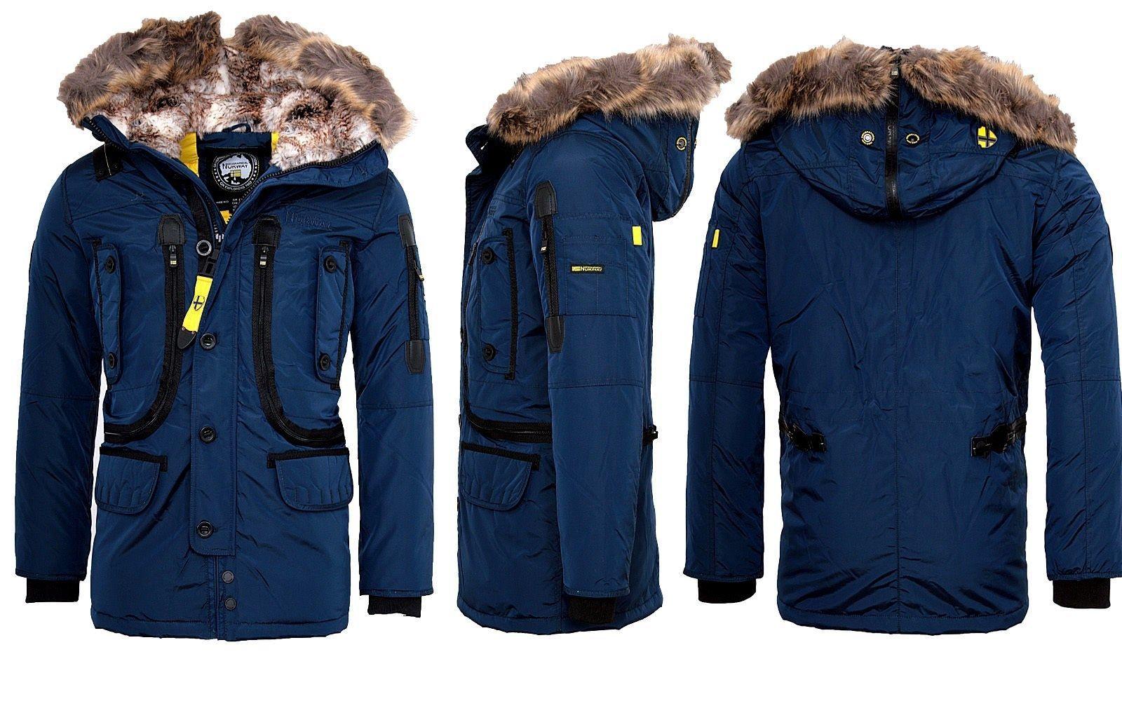 Tiefstpreis viel rabatt genießen gesamte Sammlung Geographical Norway Sehr warme Herren Winter jacke Outdoor ...