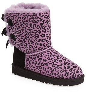 e0b4451789f Eeek so cute! Pink animal print Ugg Boots! These will be going on ...