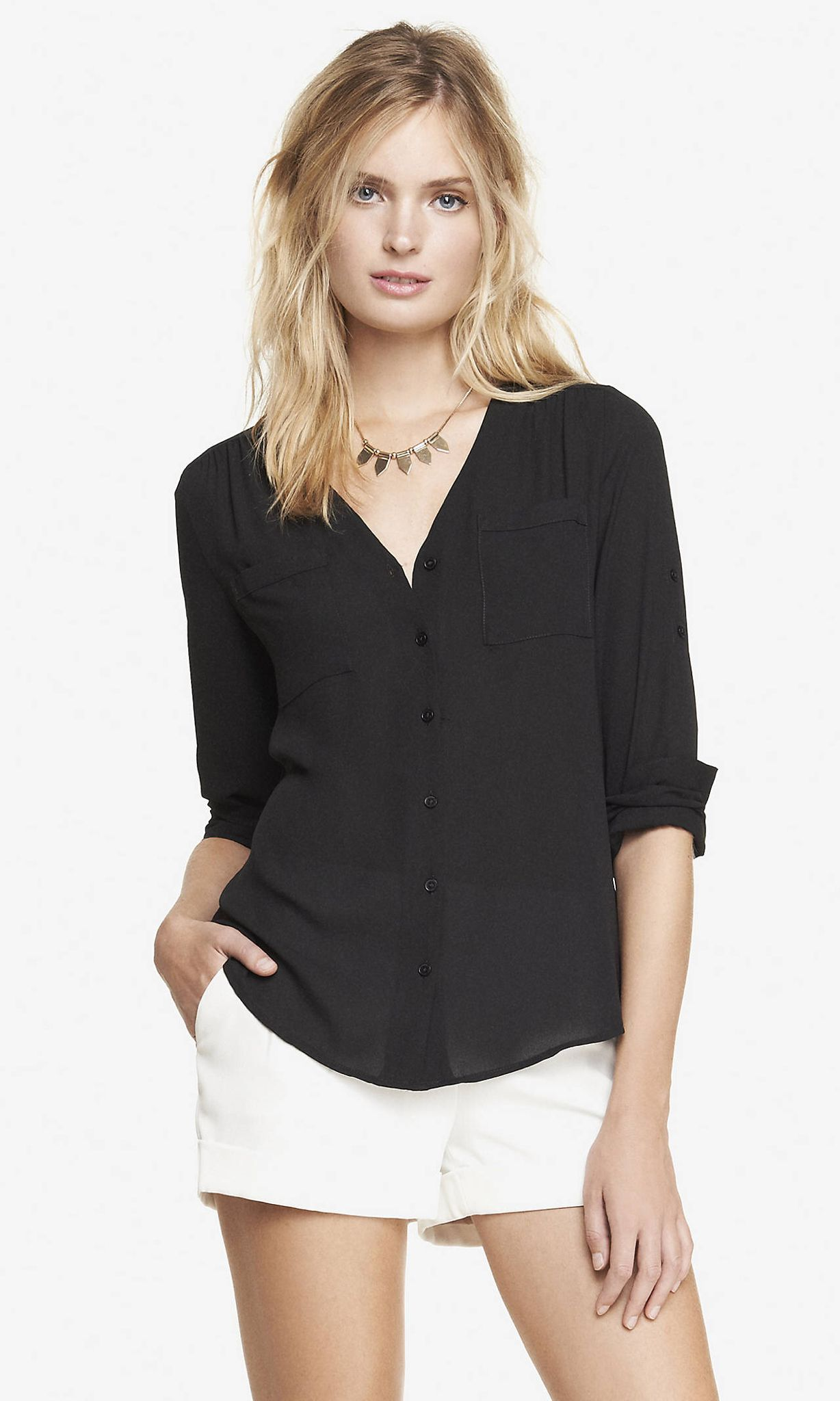 Womens Blouses For Work Express Anlis