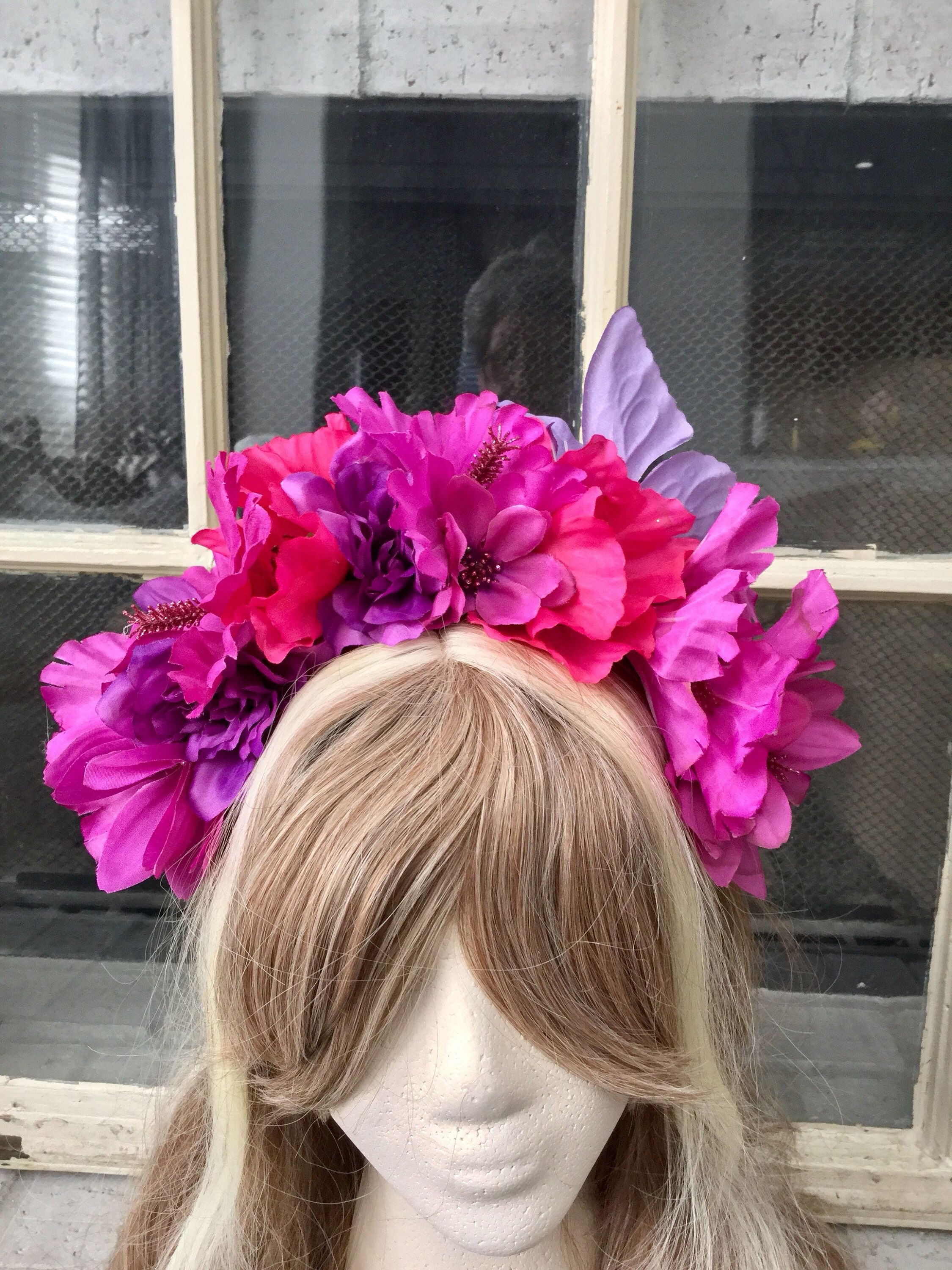 Excited to share this item from my etsy shop beautiful tropical excited to share this item from my etsy shop beautiful tropical flower headband fits all sizes izmirmasajfo