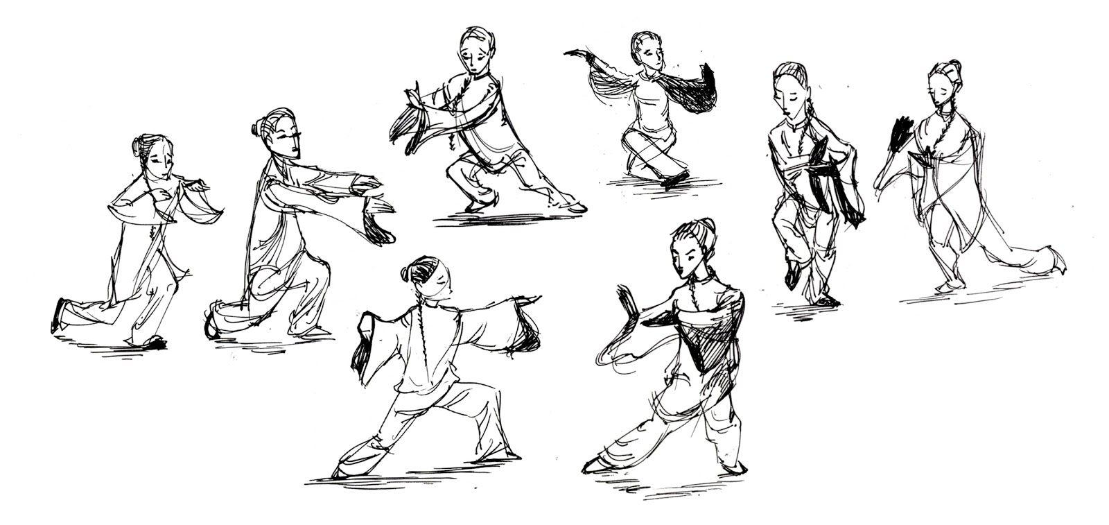 Tai Qi Postures