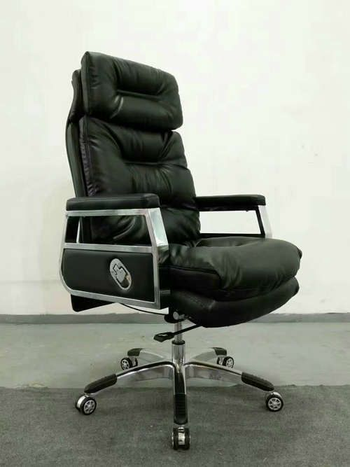 High Back Quality Manager Ergonomic Computer Leather Swivel Office Chair With Heavy Duty Base China
