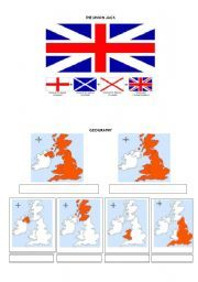 English worksheet: Geography of the U.K. and Great Britain ...