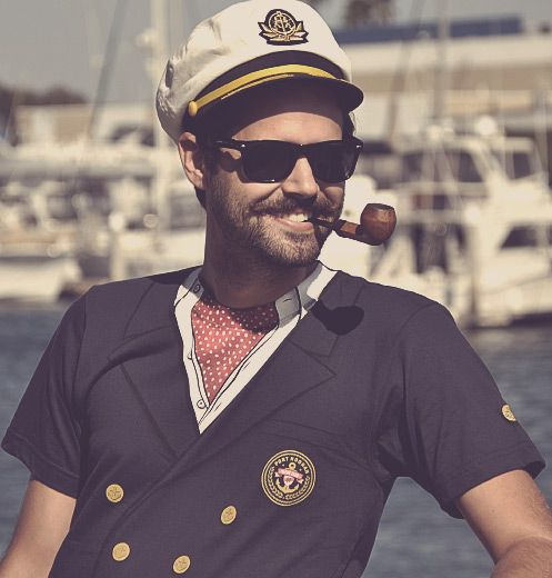 Yacht Captain T Shirt Ascot T Shirt Dumb Da Dumb Dumb Yacht Party Captain Costume
