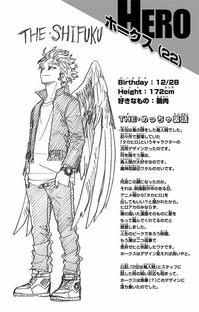How Tall Is Hawks Bnha Height - Smith Wallpaper