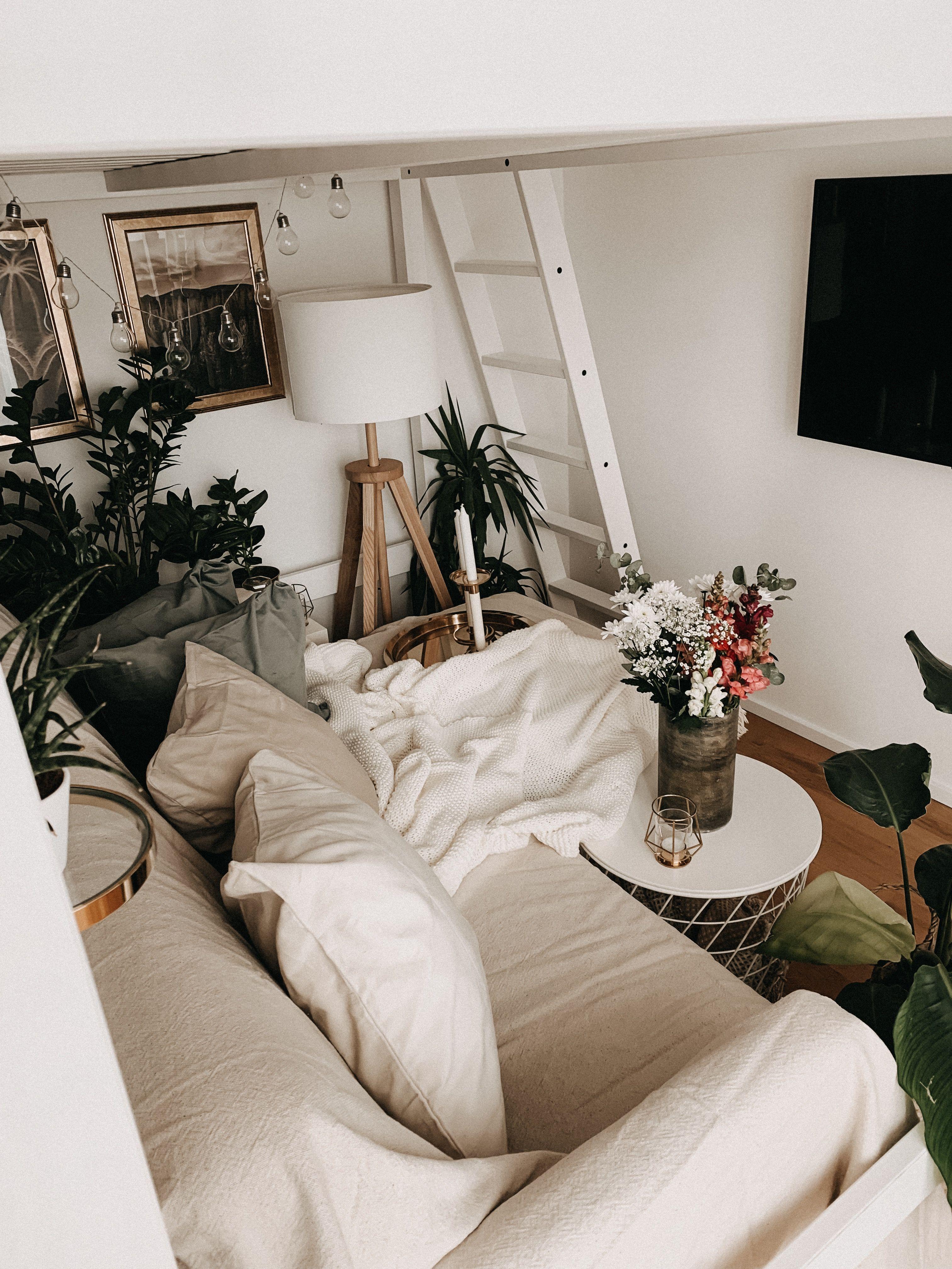 Ikea Deko Challenge – Kleine Wohnung mit Hochbett umdekorieren
