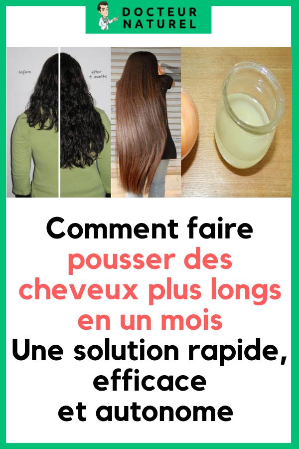 Comment Avoir Des Cheveux Epais Et Long
