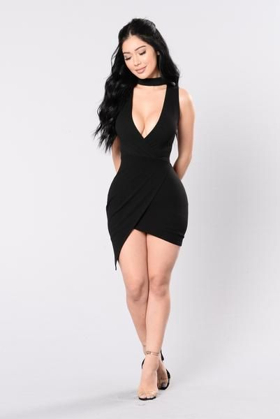 Never The Same Dress - Black