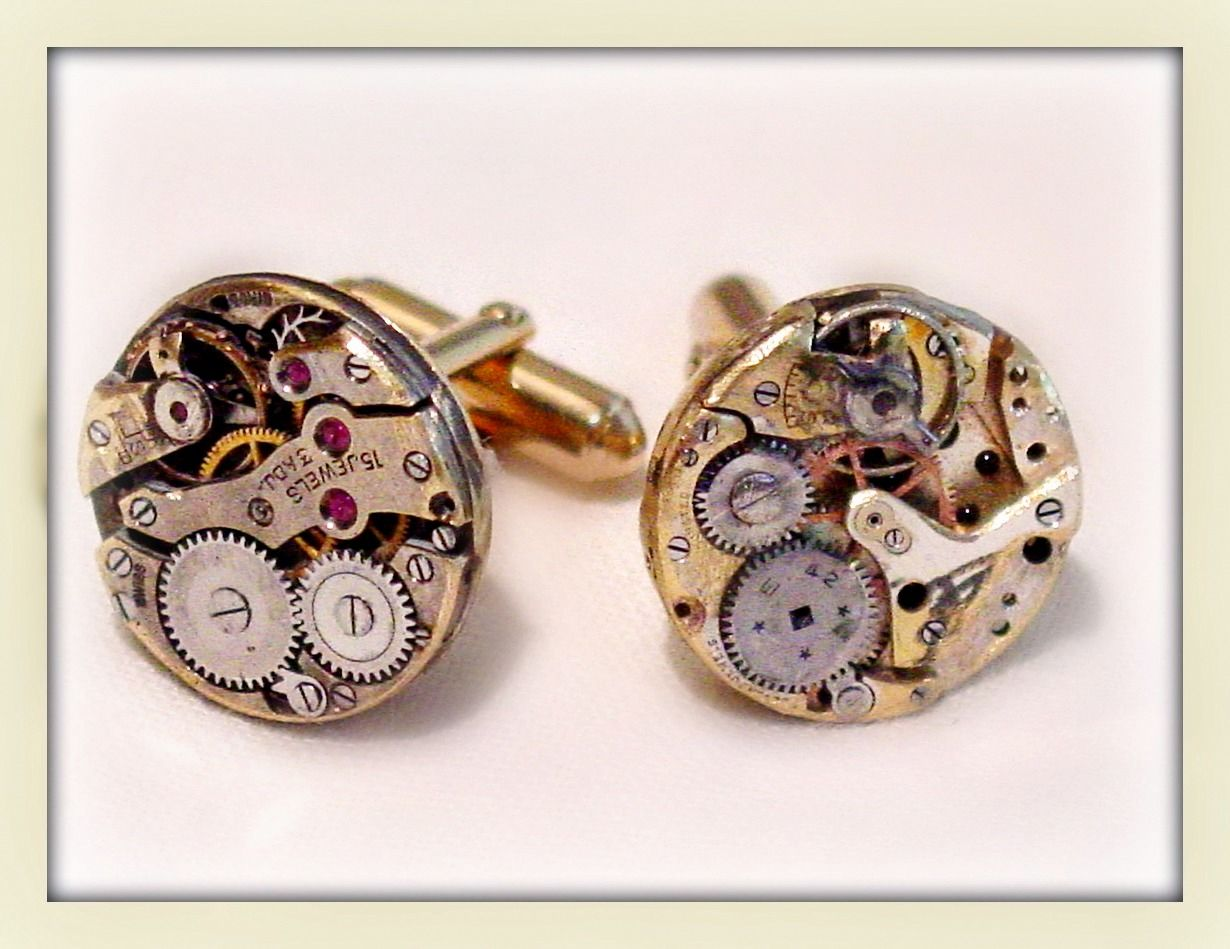 Fun with watch guts.  BOKO Designs