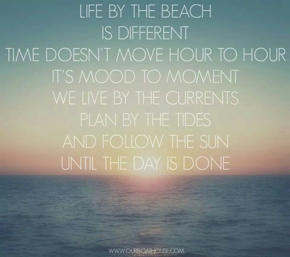 Beach Life Quotes Lifethe Beach  Quotes And Poems  Pinterest  Poem