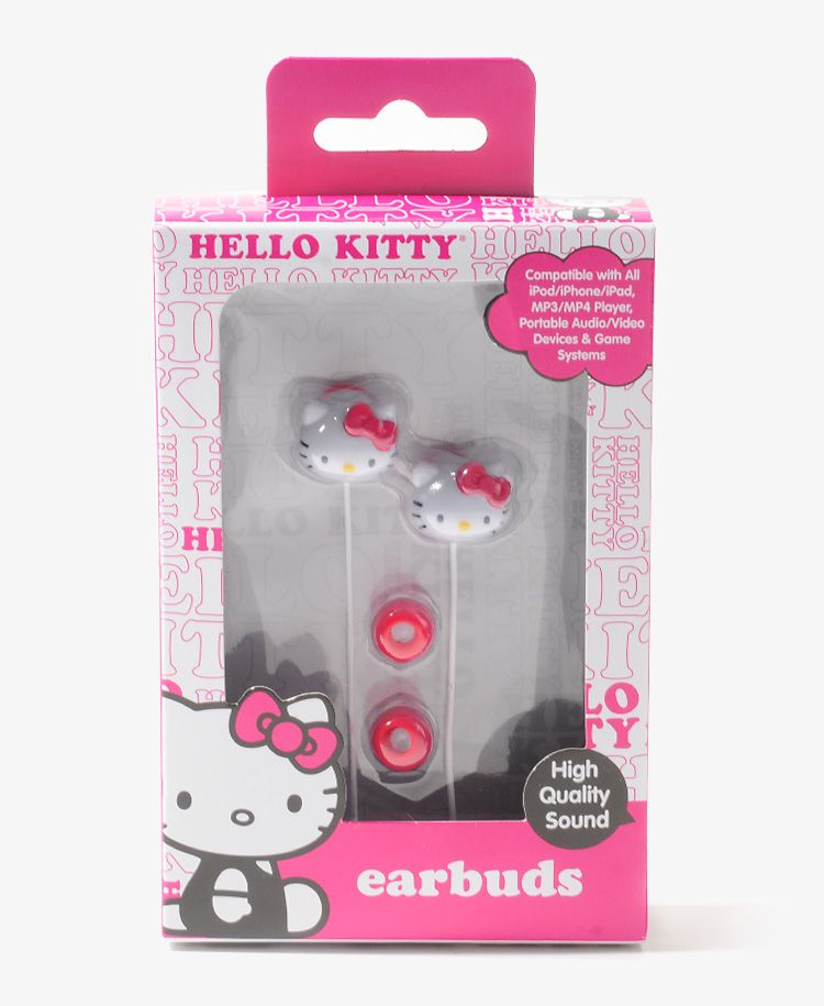Hello Kitty Earbuds | FOREVER21 - 1019572566