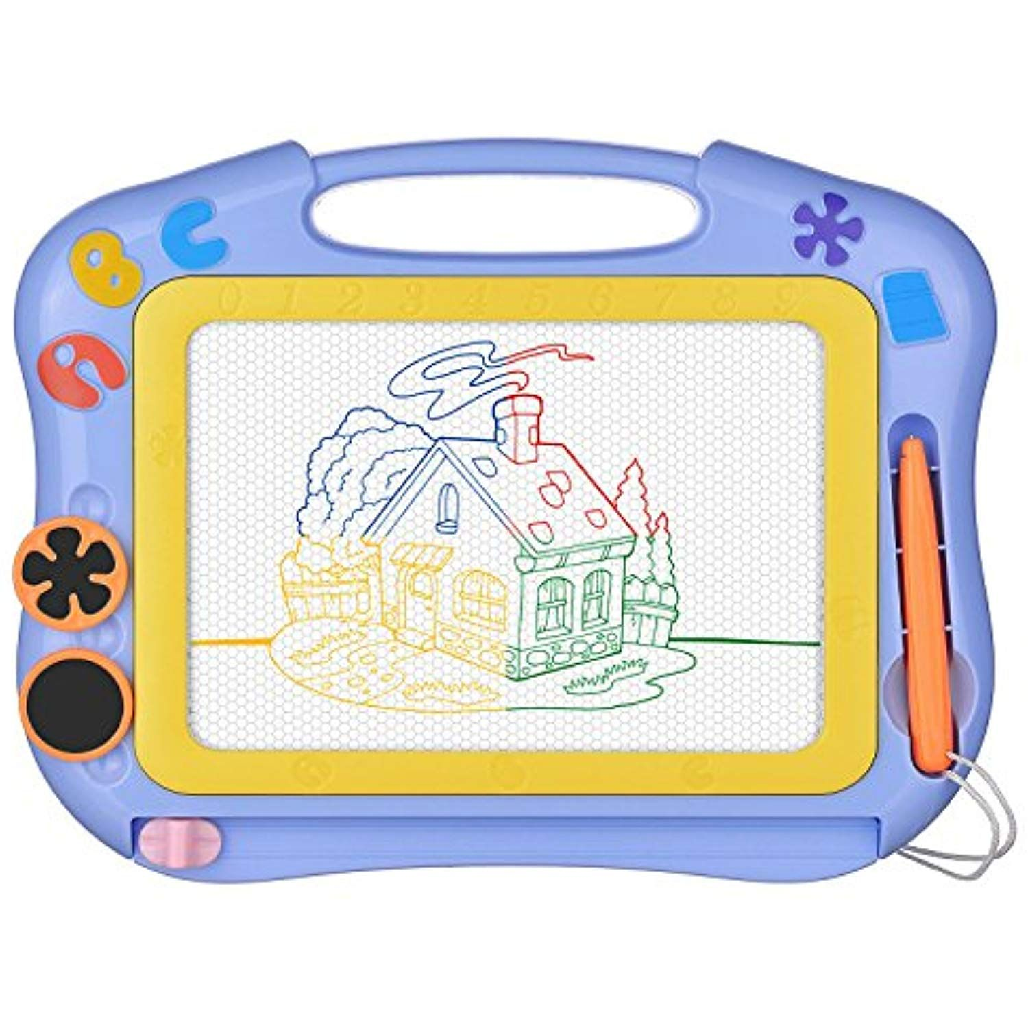 Magnetic Drawing Board Sketch Pad Doodle Writing Craft Art for Children Kid Gift