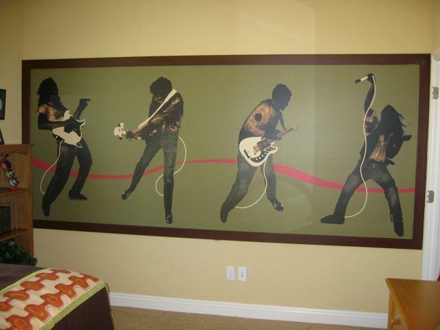 Boy Rooms Rock N Roll Boys Room Design Dazzle