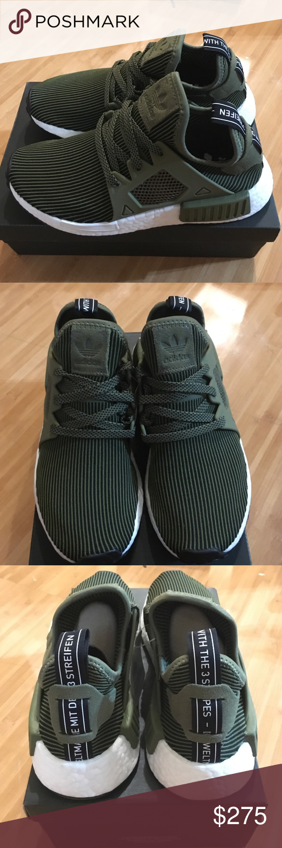 6a0983dce adidas nmd rx1 boost olive Deadstock! This color is super rare! Get it  while it last! Men size 5 and 6 so its a womens 6.5-7.5Price is FIRM!
