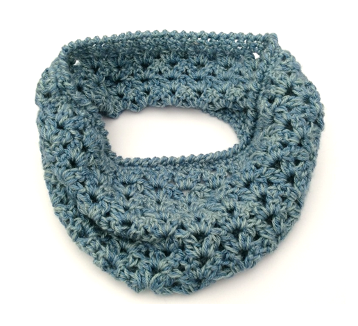 Cotton Pod Whitstable Cosy Cowl Free Crochet Pattern Pdf Download
