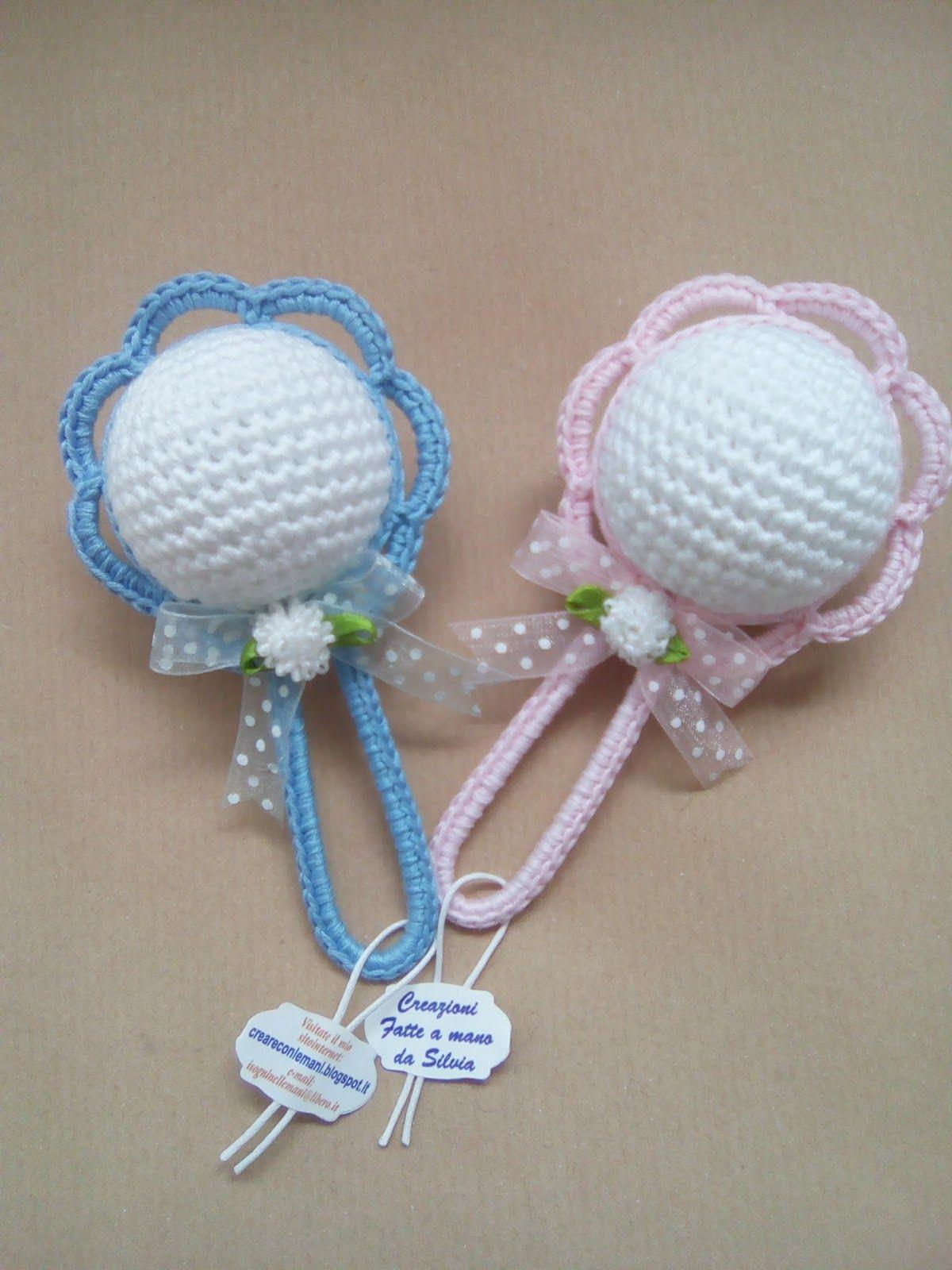 Risultati Immagini Per Bomboniera Battesimo Uncinetto Crochet For