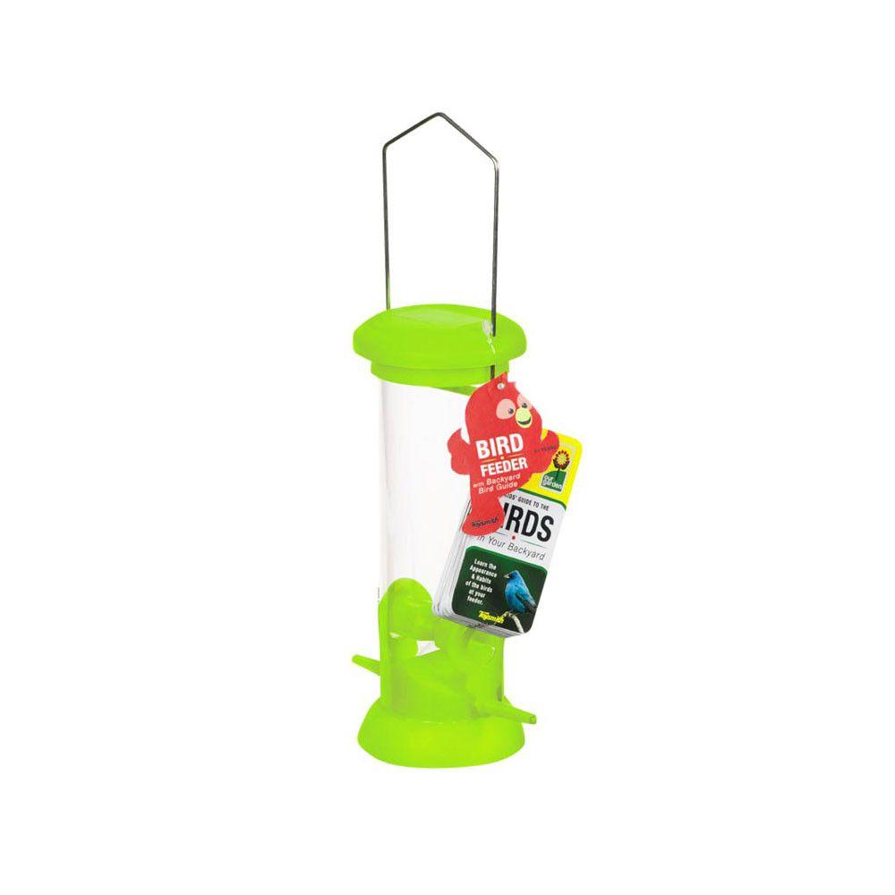 bird feeder with backyard bird guide by toysmith bird guides