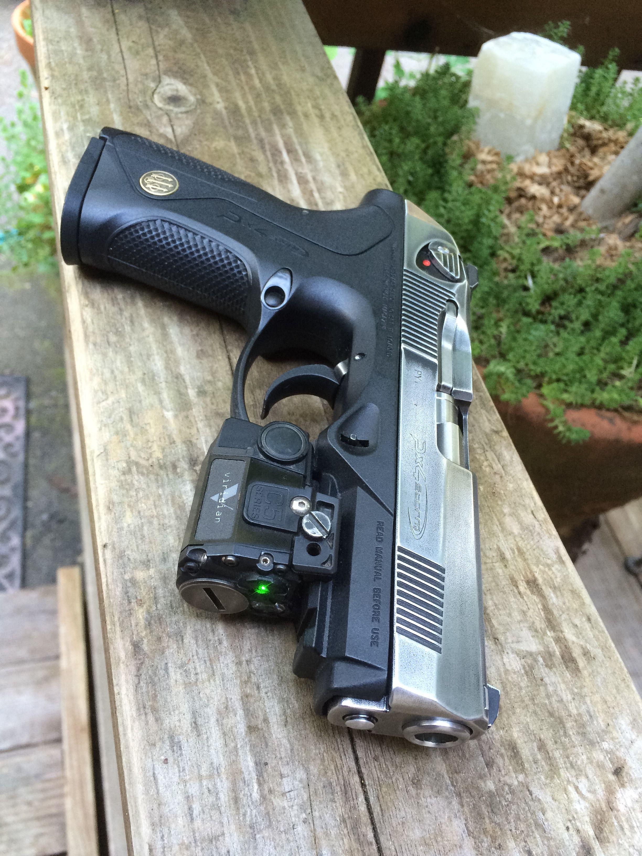 Beretta PX4 Storm with Viridian C5L green laser sight