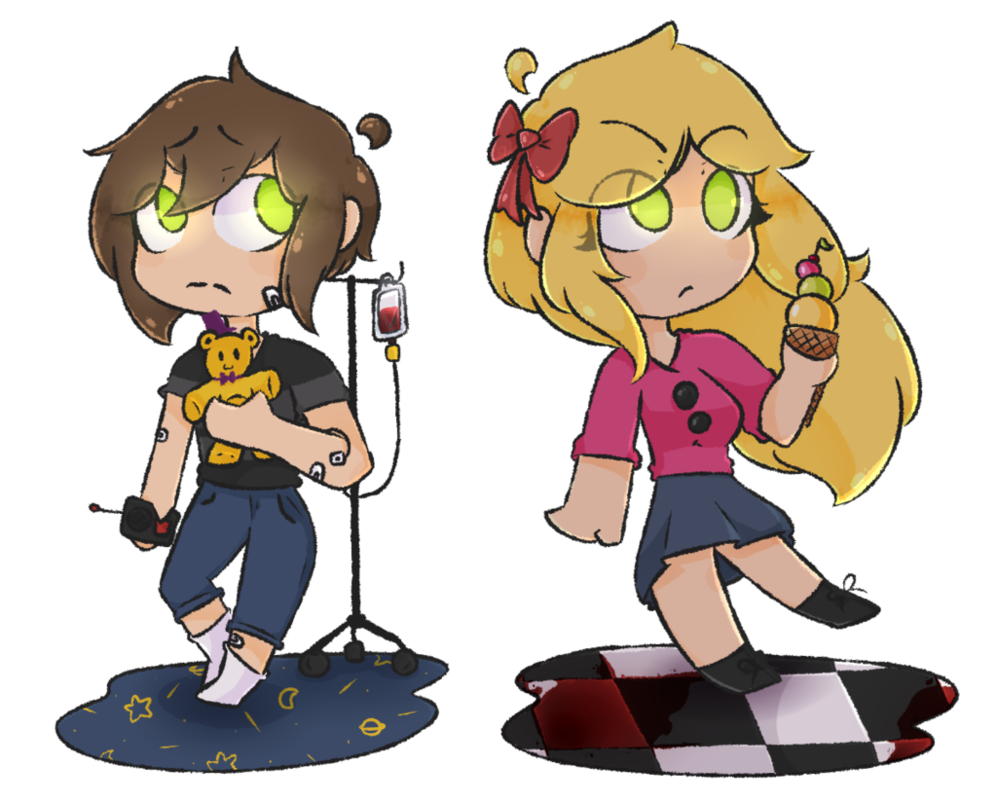Afton S Kids Are Too Pure For This World By Loc4d3sinador Anime Fnaf Fnaf Drawings Afton
