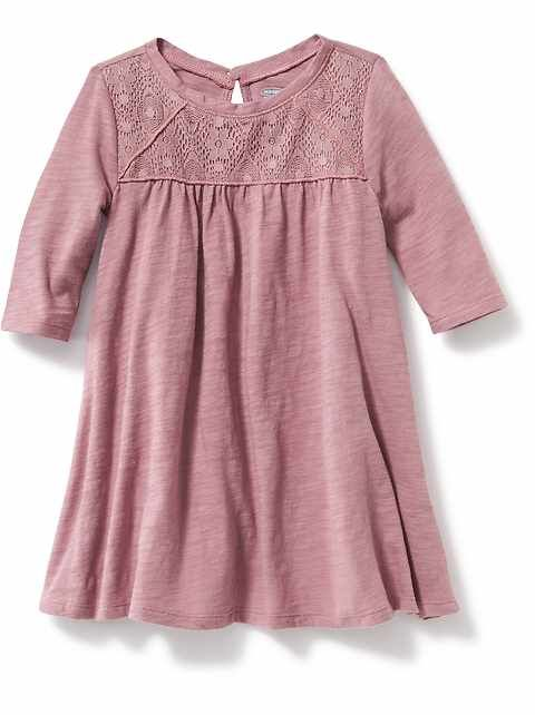 The baby girl clothes new arrivals collection at Old Navy has all the latest styles and essentials for your baby girl including onesies, PJs, and playsets.