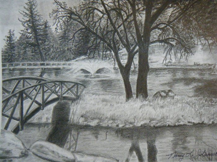 Scenery Nature Drawing Pencil Shading - Discover Amazing ...