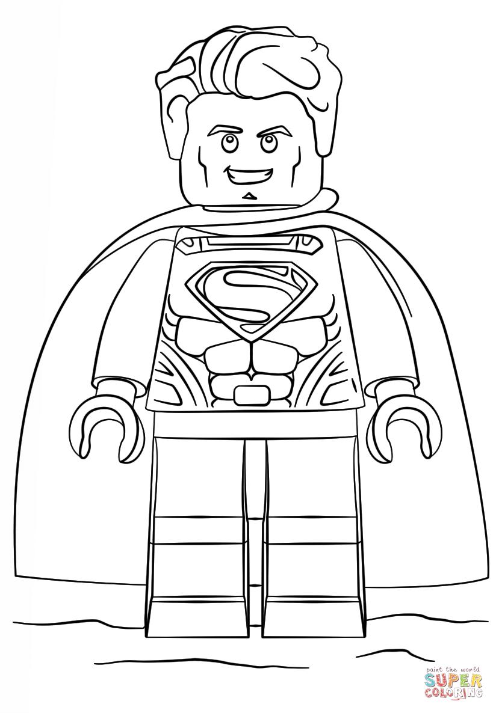 Lego Superman Coloring Page Free Printable Coloring Pages Lego Coloring Pages Avengers Coloring Avengers Coloring Pages