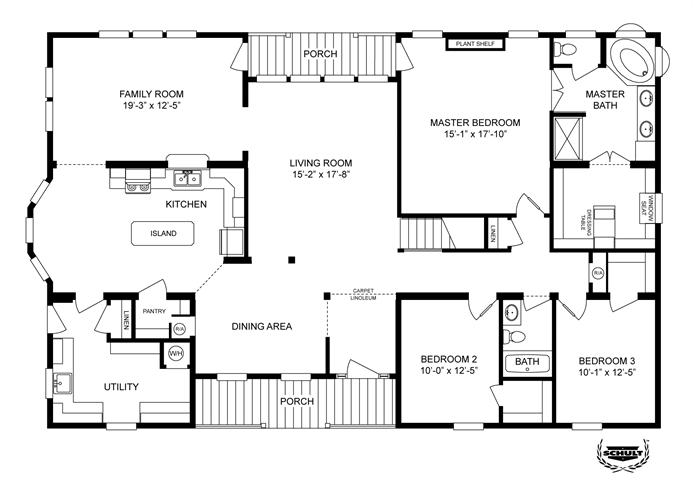 Interactive Floorplan 2855 62x42 Ck3 2 Oakwood Mod