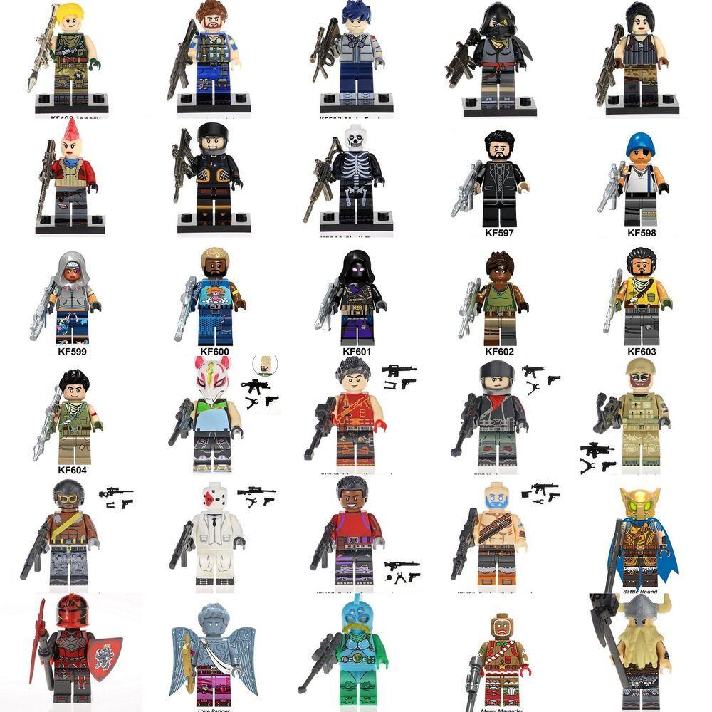 NEW** Custom fit Lego Fortnite Battle Royale Game Minifigures Sky Fox  Burnout #fortnite #fortnitebattleroyale #live   Battle royale game, Fortnite,  Mini figures