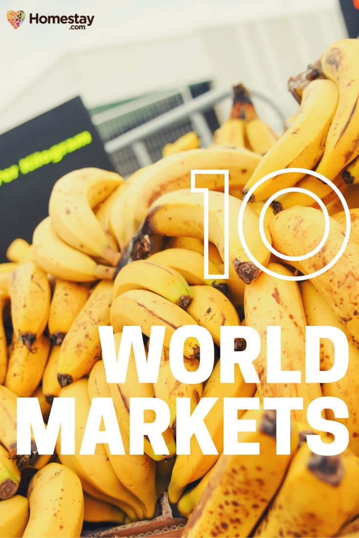 The 10 best markets for you to try when you travel - Here's a rundown of some of the best markets in the world where you can see how the locals trade by day and by night, from London to Istanbul