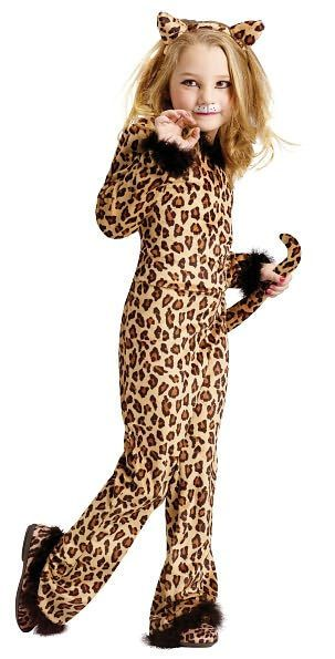 Pretty Leopard Child Costume Large (12/14) Children costumes